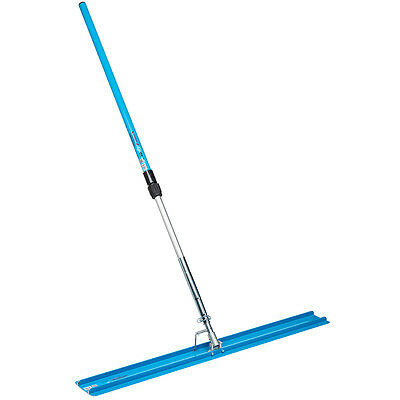 OX Pro Bull Float 1200mm x 150mm & Telescopic Aluminium Handle 1300mm-2400mm