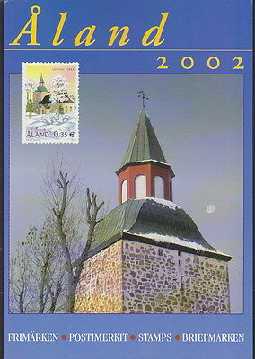 Aland Finland Official Complete Year Set 2002 MNH **