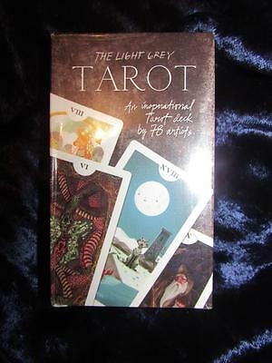 THE LIGHT GREY TAROT. Limited Edition Cards. 78 Unique Cards - Rare