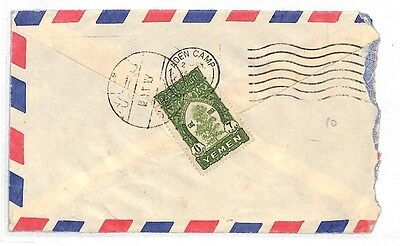 AK247 Yemen *ADEN CAMP* Air Mail Cover {samwells-covers}PTS