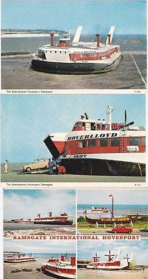 "Ramsgate ""pegwell Bay"" Hoverport # Six Postcards"