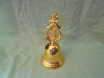 1992 Goldplated Christmas Bell