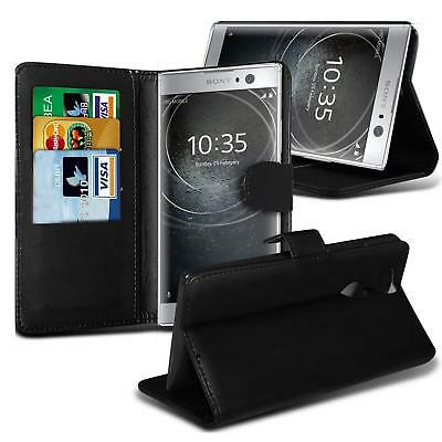 Leather Flip Case Wallet Stand Cover For Sony Xperia Experia XZ XA2 L1 Z Premium