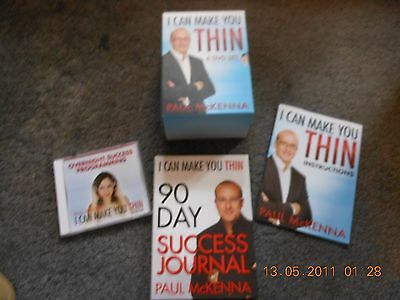 PAUL MCKENNA - I Can Make You Thin  DVD Boxset  (6 disc set) Book And Cd