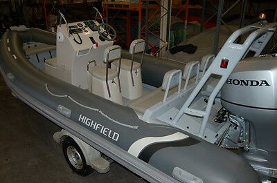 Highfield Om  590 Rib Boat With Honda 135Hp Outboard Motor, Optional Trailer