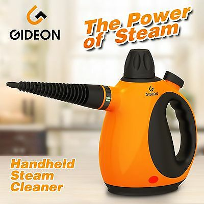 Gideon Handheld Pressurized Steam Cleaner and Sanitizer / Powerful Multi-purp...