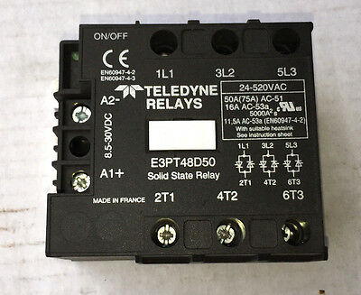 Teledyne Solid State Relay E3Pt48D50 24-520 Volt New