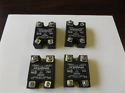Wholesale Liquidation Crydom Solid State Relay D2440 Lot Of 4