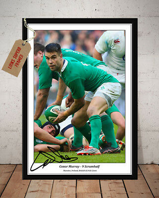 Conor Murray Ireland Rugby Autographed Signed Photo Print