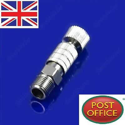 Airbrush Quick Disconnect Release Coupling Adapter Connecter 1/8'' Fittings Part