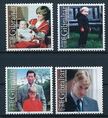 Gibraltar Prince William 18th birthday with mother Lady Diana MNH 2000