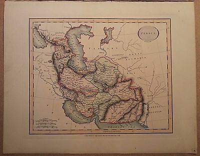 JOHN CARY MAP OF PERSIA 1813 FROM HIS New Elementary Atlas