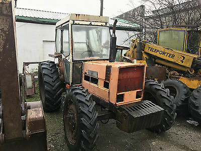 Fiat 880dt tractor 4wd 4 cylinder