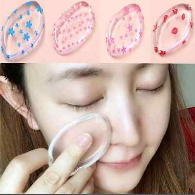 Printing Blender Soft Silicone Sponge Makeup Puff For Foundation BB Cream Pads