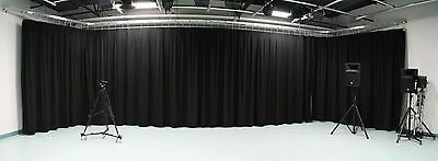New Curtain Stage Blackout  Custom Sizes Available Made in Canada