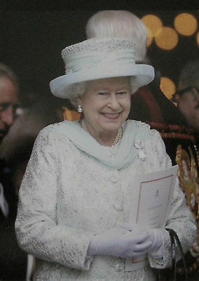HM Queen Elizabeth II Arriving at St. Paul's Cathedral Post Card