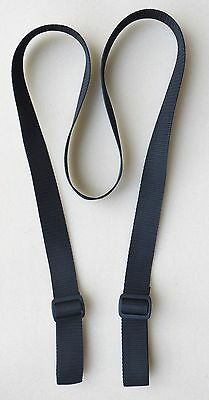 "1.25"" X 72"" Rifle & Shotgun Heavy Web Sling ADJUSTABLE 2 POINT BLACK"
