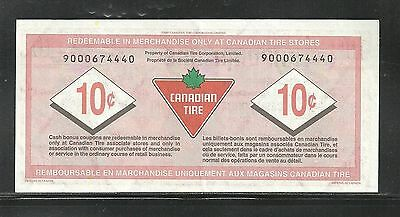 Canadian Tire Replacement Note  9000674440