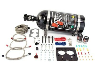 Nitrous Outlet Wet Plate Nitrous Kit -  GM LT1/TPI 52mm Plate System - 50-200HP