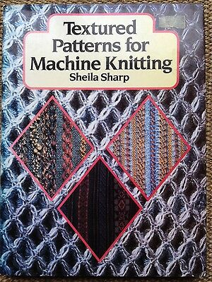 Machine Knitting Book-Textured Patterns for Machine Knitting Book