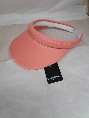Glenmuir Ladies Headband Golf Visor - Coral - New with Tags