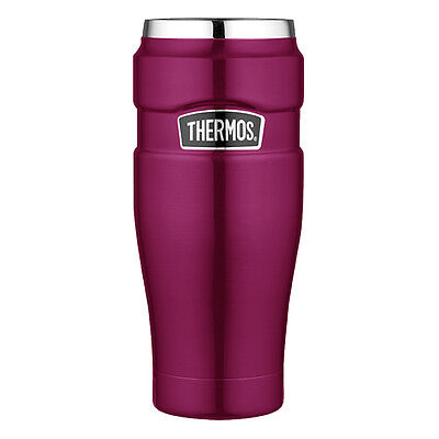 Thermos Stainless King™ Vacuum Insulated Travel Tumbler 16oz Stainless Steel/Ras