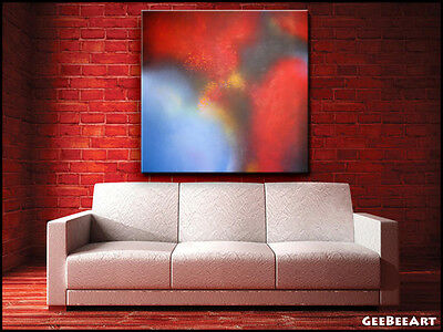 Abstract Original Extra Large Painting Canvas Modern Interior Expressionism Art