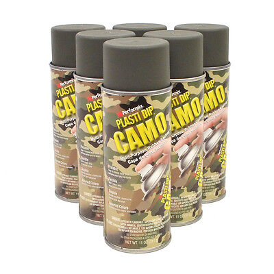 Plasti Dip Spray CAMO Camouflage Green FREE SHIPPING LOT of (6)