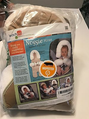 Leachco Noggie Plush Support Soft Seat Ivory  Free Shipping !!!!!!!!!!!
