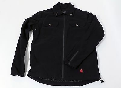 Chrome Industries Ike Windshirt Black Men's Small S Cycling Jacket NEW!