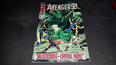 The Avengers #45 (Oct 1967, Marvel) FINE.RARE IRON MAN THOR CAPT AMERICA ANT-MAN
