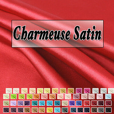 Charmeuse Satin Fabric by the Yard - Style 02800
