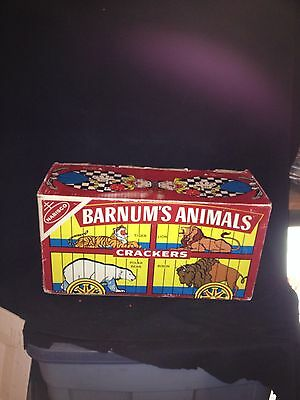 "1972 18"" Nabisco Barnums Animal Crackers Advertising Display Box"