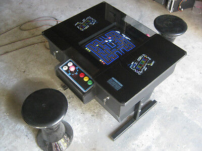 Arcade Video Game, Pinball Machine Multigame Cocktail Table Authentic Style