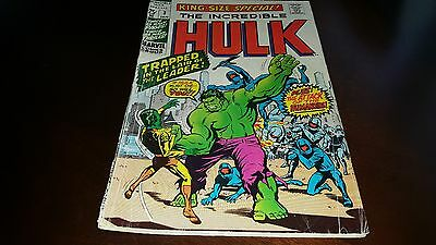 Incredible Hulk King-Size Special #3 ..vg+....1971