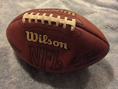 Official NFL Football Wilson Signed Paul Tagliabue Game Ball