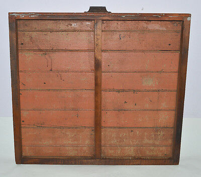 Vintage Printer's Type Tray/Drawer Shadow Box, Yankee size case