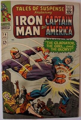 Tales of Suspense #76 (1966) with Iron Man and Captain America
