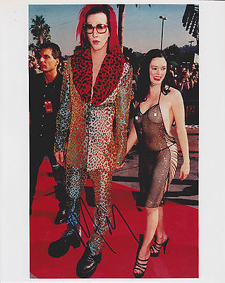 Marilyn Manson HAND Signed 8x10 Photo, Autograph, Say10, Sweet Dreams