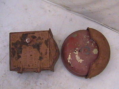 Fire Alarm Box Vintage Faraday Cast Iron Station & Brass Bell