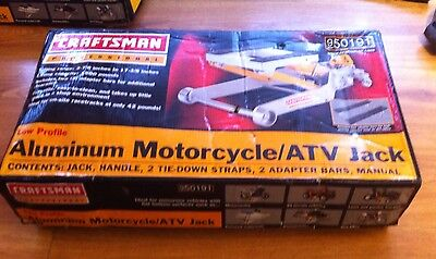 Craftsman 950191 Professional 1500 Lb. Motorcycle/ATV Jack