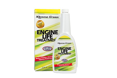 Xtreme Green Engine Life Treatment Turns Motor Oil into Super Motor Oil 12 Fl.Oz