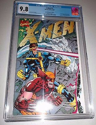 X-Men #1 CGC 9.8  1991 Special Collectors Edition variant  Jim Lee  White pages