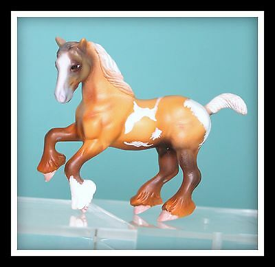 ❤CUSTOM OOAK Breyer Horse Stablemate G2 Clydesdale Draft Overo Pinto CM❤