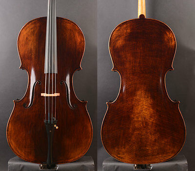 Monthly Special offer!Super value!Strad 1690 Copy Cello,Deep tone