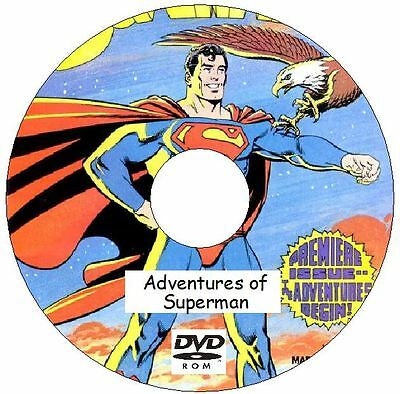 Adventures of Superman Classic Comic Collection on DVD