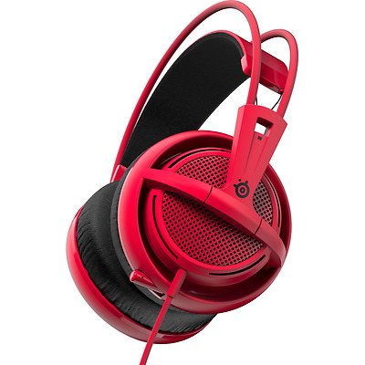 Casque micro SteelSeries Siberia 200 - Forged Red (PC/PS4)