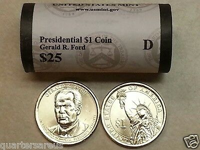 2016 P Richard Nixon Presidential Dollar Roll Mint Wrapped Heads Tails In Hand