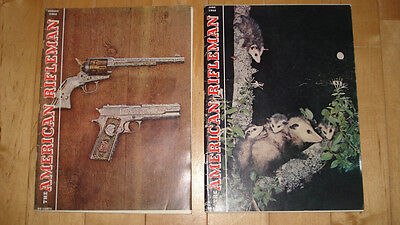 Vintage American Rifleman magazines. June and August 1962
