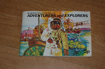 Brooke Bond  Adventurers and Explorers  -  Full Set of Tea Cards
